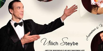 Vorhang auf für spektakuläre Auftritte von Ullich Steybe – mit Texten von orange°clou