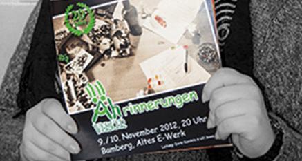 Neues Programmheft der Äh-Werker | Kabarett aus Bamberg