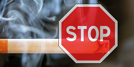 Text für Rauchverbot in Firmen