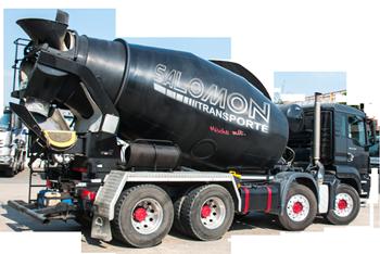 Betonmischfahrzeug Black Pearl von Salomon Transporte Bamberg
