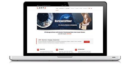 Neue Website für Sondermaschinenbau