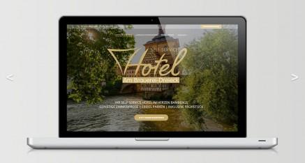 Website Hotel am Brauerei Dreieck